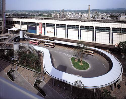 JR郡山駅西口駅前ターミナル